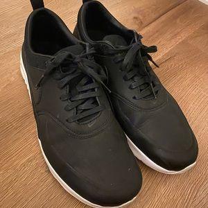 Nike Airmax Premium Thea black leather womens sz 9
